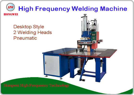 Manual Blister Automatic Welding Machine For Leather / Plastic Sheet Embossing
