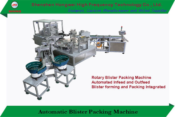 Rotary Automatic Blister Packing Machine With Thermoforming Function